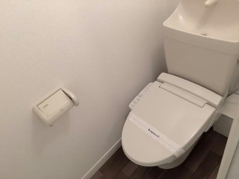レオパレスサザンクロス 108号室のトイレ