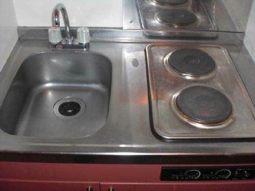 レオパレスN 104号室のキッチン