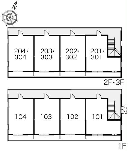 レオパレスラ・フォンティーヌ 102号室のその他共有