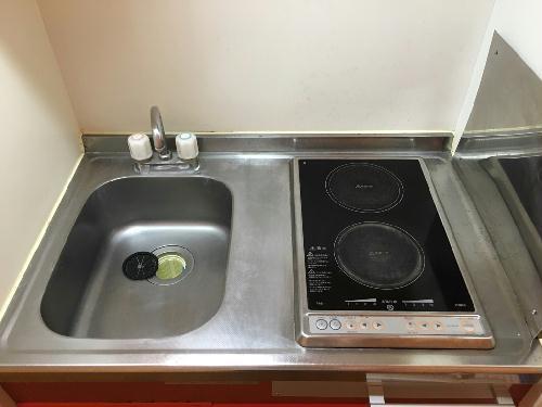 レオパレスファレノプチス 205号室のキッチン