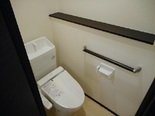 クレイノ未来 102号室のトイレ