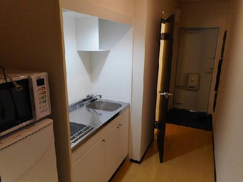 クレイノ未来 102号室のキッチン