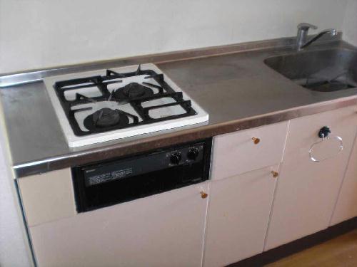 レオパレスメイル・サルートⅡ 201号室のキッチン