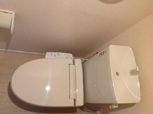 レオネクストトラッド湯河原 205号室のトイレ