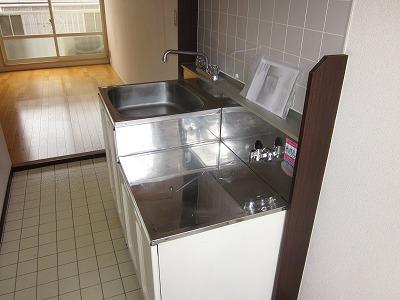 メゾン峰岡 205号室のキッチン