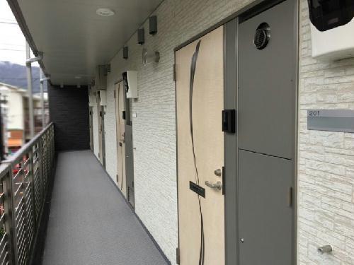 クレイノ未来 202号室の玄関