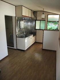 向陽コーポ 201号室のキッチン