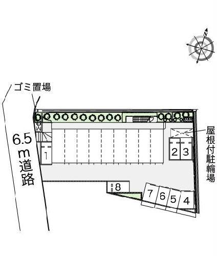 レオパレスPURERISE 108号室の設備