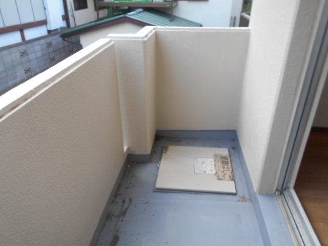ロッキーホーム扇町 201号室のバルコニー