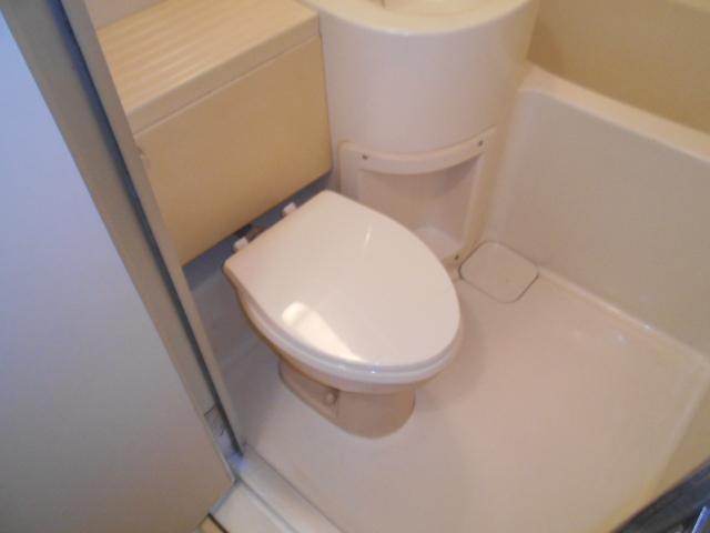 ロッキーホーム扇町 201号室のトイレ