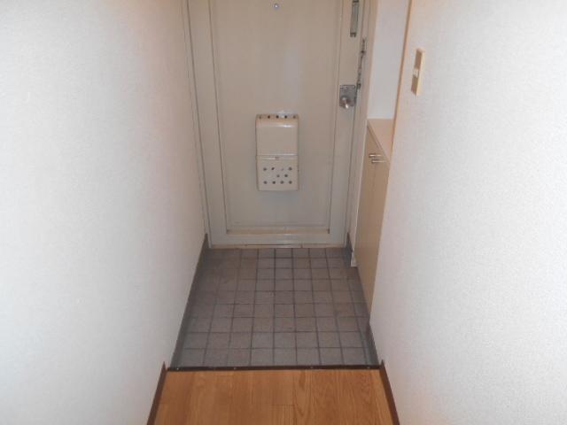 ロッキーホーム扇町 201号室の玄関