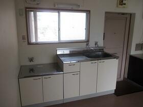 浅間第三マンション 402号室のキッチン