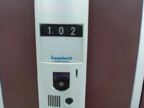 レオパレスエンボーダ 102号室の玄関