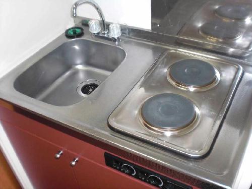 レオパレスミール 104号室のキッチン
