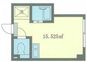 福富ビル・303号室の間取り