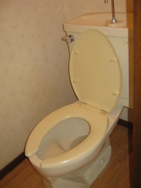 アローエスタ 302号室のトイレ
