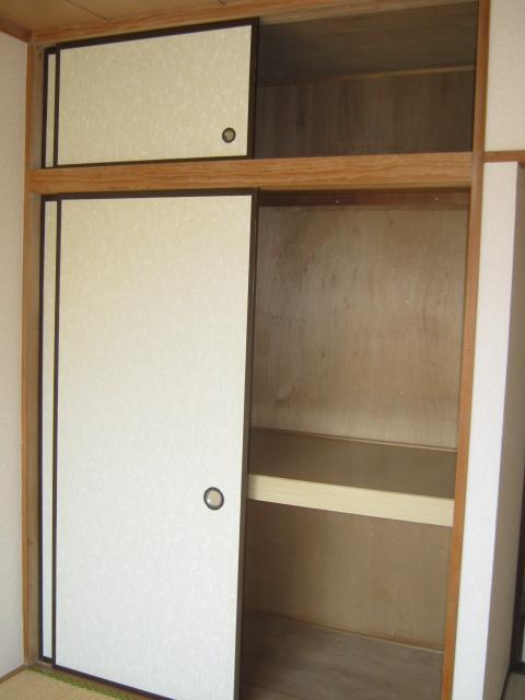 アローエスタ 302号室の収納