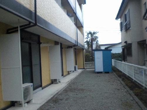 レオパレスラ・フォンティーヌ 103号室のバルコニー