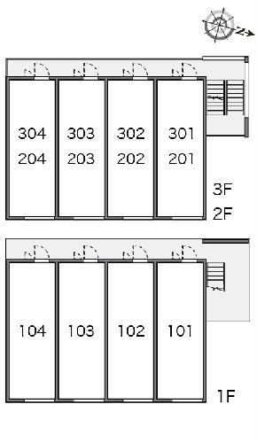 クレイノアナベル 202号室のその他