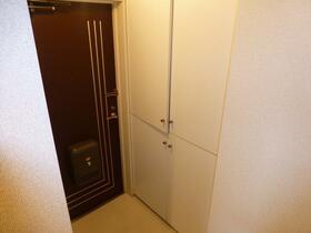 アロマ21三ッ沢公園 401号室の玄関