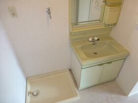 アロマ21三ッ沢公園 401号室の洗面所