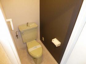 アロマ21三ッ沢公園 401号室のトイレ