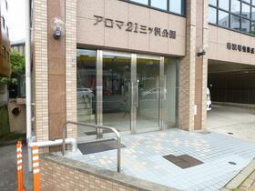 アロマ21三ッ沢公園 401号室のエントランス