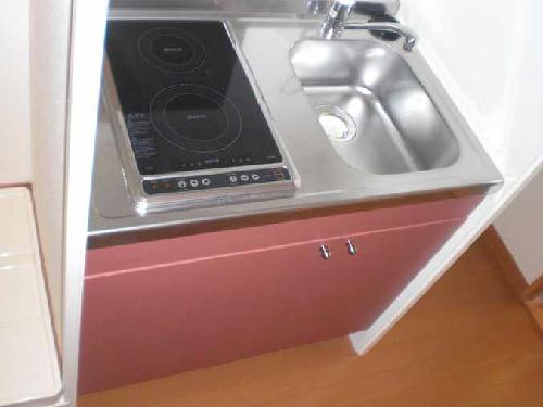 レオパレスメルベーユ原宿 204号室のキッチン