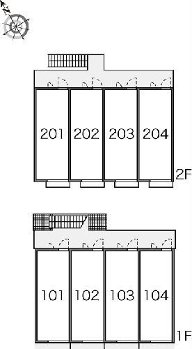レオパレスメルベーユ原宿 204号室のその他