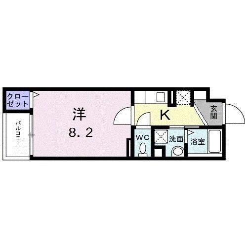 錦糸町コクーン・02020号室の間取り