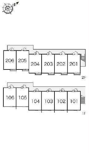 レオパレス東海 204号室のその他