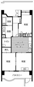 ビレッジハウス潮見タワー1号棟・0103号室の間取り