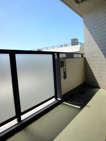 シャンポール梅澤 302号室のバルコニー