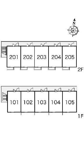 レオパレスフォンターナ 101号室のその他