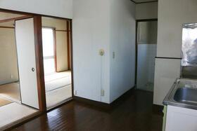 富士マンション 402号室のキッチン