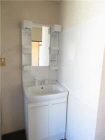 ベルナール 201号室の洗面所