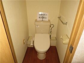 ベルナール 201号室のトイレ