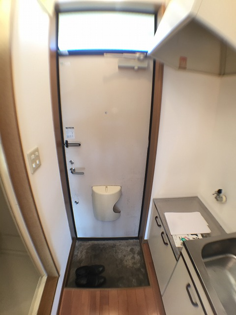 ラジェルスアオト 103号室のキッチン