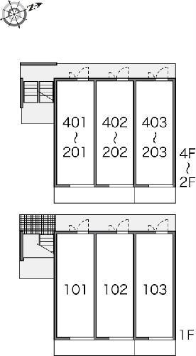 レオパレスリソランテ 403号室のその他