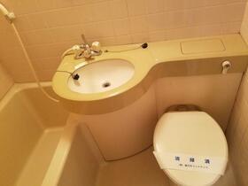 日神パレス立石第二 108号室のトイレ