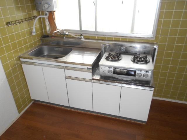 ハイツ中村 207号室のキッチン