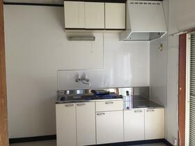 第2あずまハイツ 201号室のキッチン