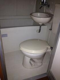 第2あずまハイツ 201号室の風呂