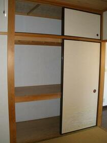 ハイフラッツⅡ 201号室の収納