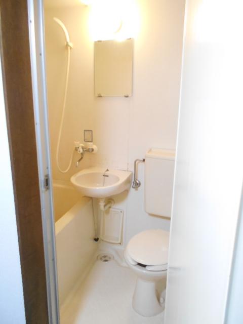 レオハイツ 110号室の風呂