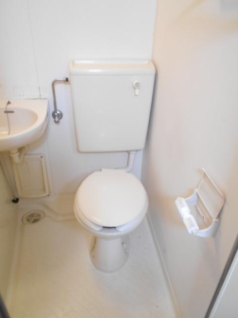 レオハイツ 110号室のトイレ