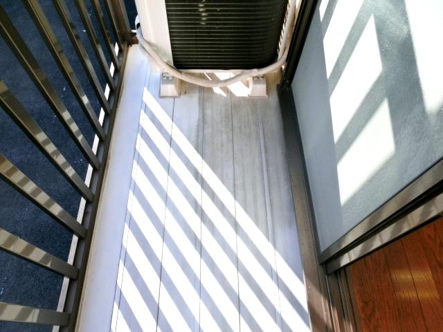 リレント谷塚テラスハウスのバルコニー