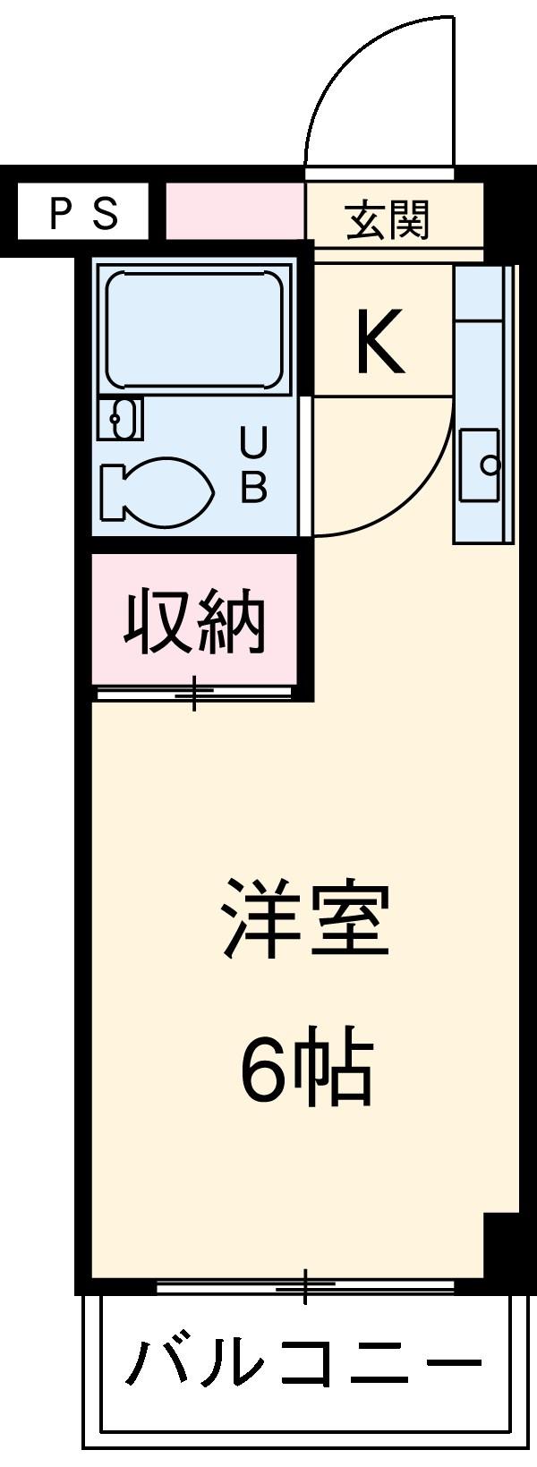 コーポレーション青柳・307号室の間取り