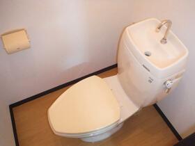 八葉コーポ 105号室のトイレ