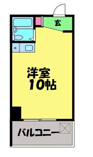 東京ヤマオキビル・403号室の間取り